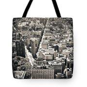 Flatiron Building - New York City Tote Bag