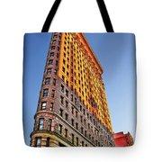 Flatiron Building Profile Tote Bag