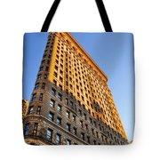 Flatiron Building Profile Too Tote Bag