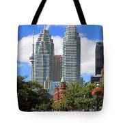 Flatiron Building Toronto 2 Tote Bag