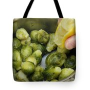 Flavoring Brussels Sprouts Tote Bag