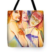 Flawless Tote Bag by Angelique Bowman