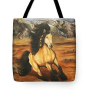Fleeing  The  Storm Tote Bag