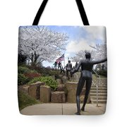 Fleeting Spring At The Arena Tote Bag