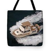 Fleming Yacht's Corvette Tote Bag