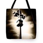 Fleur De Lis Fence Tote Bag