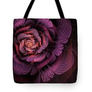 Fleur Pourpre Tote Bag by John Edwards