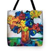 Fleurs De Vigne Tote Bag