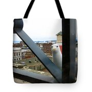Flew In For Lunch Tote Bag