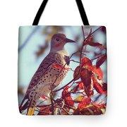 Flicker In Autumn Tote Bag