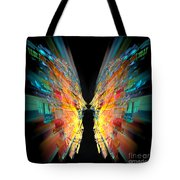 Flight Abstract Tote Bag