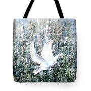 Flight Against Odds Tote Bag
