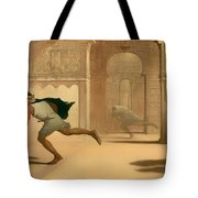 Flight And Pursuit Tote Bag