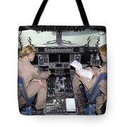 Flight Captains Review Flight Tote Bag