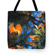 Flight Of A Monarch Tote Bag