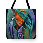 Flight Of Consciousness Tote Bag