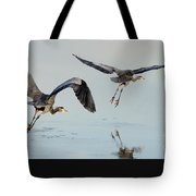 Propped Up Tote Bag