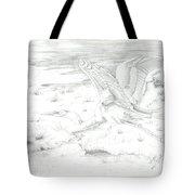 Flight Of Grace Tote Bag