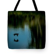 Flight Of The Cormorant Tote Bag