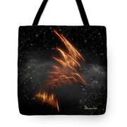 Flight Of The Eagle - Featured In Comfortable Art And Spect Artworks Notecard Possibilities  Tote Bag