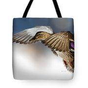 Flight Of The Mallard Tote Bag