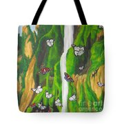 Flight Of The Monarchs Tote Bag