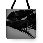Flight Of The Raven Tote Bag