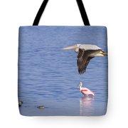 Flight Of The Pelican Tote Bag