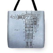 Flight Suit Patent Tote Bag