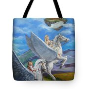 Flights Of Fancy Tote Bag