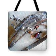 Flintlock Musket Tote Bag