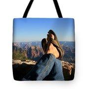 Flip Flop View Tote Bag