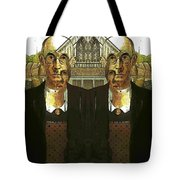 Flipped Gothic  Tote Bag