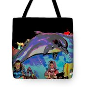 Flippers Tote Bag