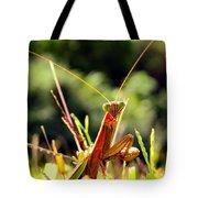 Flirty Mantis Tote Bag