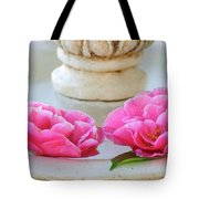 Floating Camellias Tote Bag