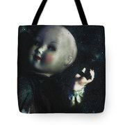 Floating Doll Tote Bag
