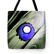 Floating Dot Abstract Alcohol Inks Tote Bag