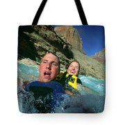 Floating Down The Little Colorado River Tote Bag