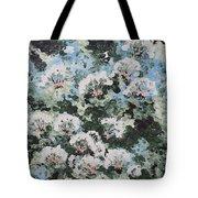Floating Flower Fantasy Tote Bag