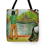 Floating Gardens Xochimilcho Mexico Tote Bag