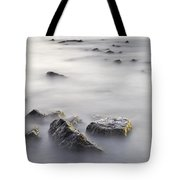 Floating In The Sea Tote Bag