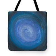 Floating Blues Tote Bag