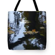 Floating Leaves Tote Bag