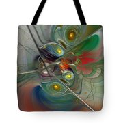 Floating Lightness-abstract Art Tote Bag