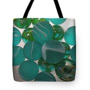 Floating Marbles Tote Bag