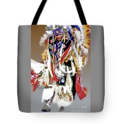 Floating Native Dancer Tote Bag