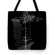 Floating Oil Rig Patent Tote Bag