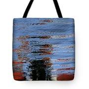 Floating On Blue 16 Tote Bag