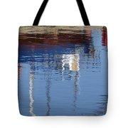 Floating On Blue 21 Tote Bag